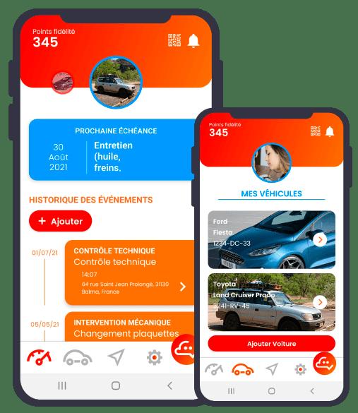 Application de la Startup CodeNekt
