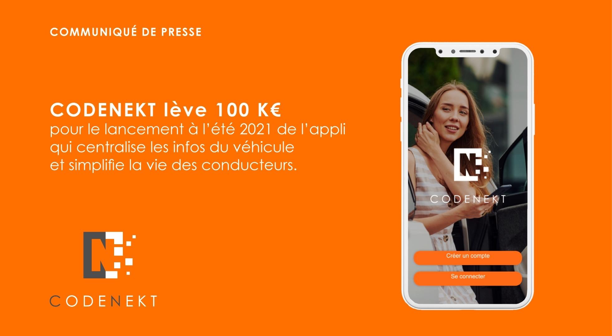 100000€ levés pour le lancement de l'application !