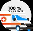 CodeNekt - 100% des surfaces décontaminées